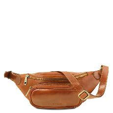 Leather Bumbag Honey - Tuscany Leather -