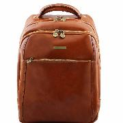 Leather Laptop Backpack - Tuscany Leather -
