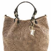 Printed Leather Bag Women - Tuscany Leather -