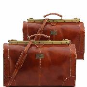 Leather Travel Set Vintage Honey- Tuscany Leather -